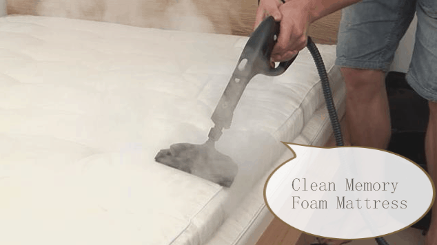 how to clean memory foam mattress with this easy guidefoam globes foam globes. Black Bedroom Furniture Sets. Home Design Ideas