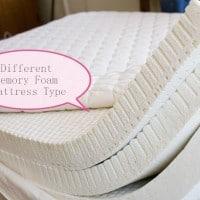 memory foam mattress type