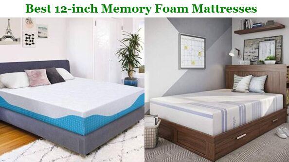 Best 12 Inch Memory Foam Mattress In 2020 Top Picks Buying Guide