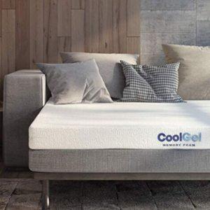 Classic Brands Memory Foam Replacement Sofa Bed 4.5-Inch Mattress Queen