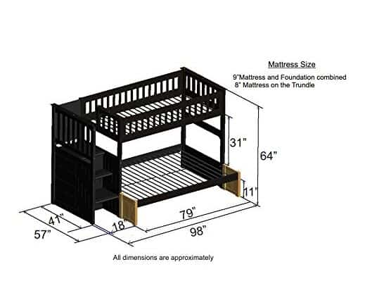 Top 10 Best Bunk Beds With Storage For Kids Adults In 2021 Ultimate Guide