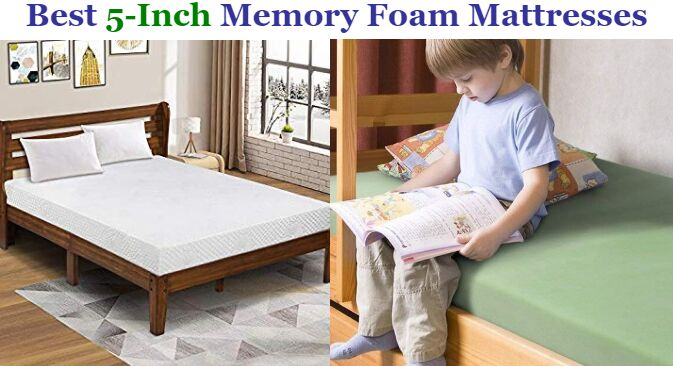 Best 5 Inch Memory Foam Mattresses In