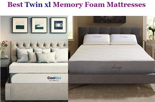 Twin Xl Memory Foam Mattresses