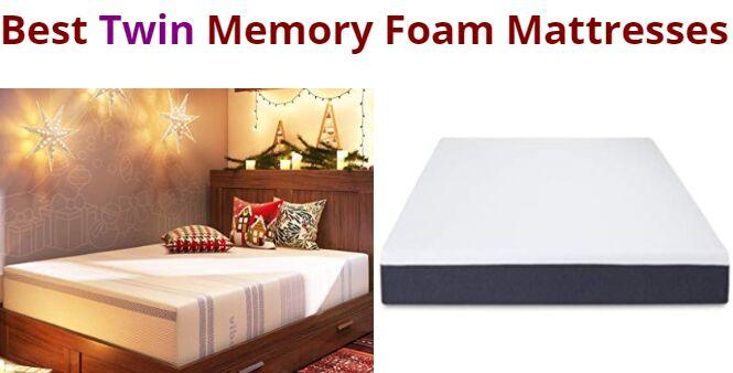 Twin Memory Foam Mattresses In 2020