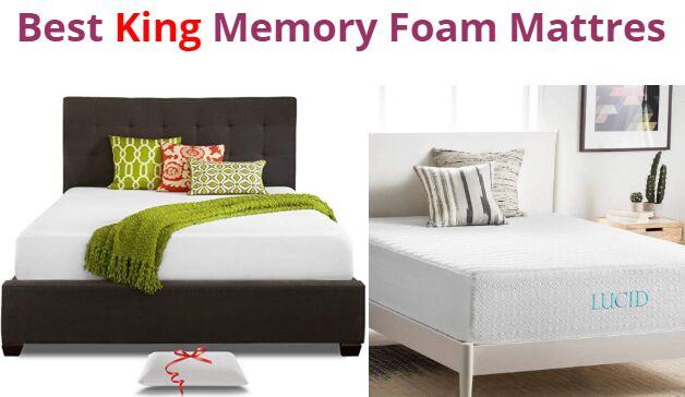 Top 10 Best King Memory Foam Mattresses