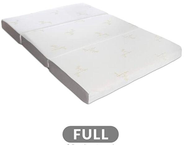 Milliard Tri-Folding Mattress Reviews In 2020 - Foam Globes